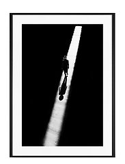 Poster Man in Light - BLACK