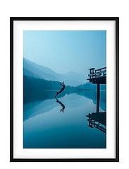 Poster Night Swim - BLUE