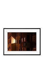 Poster House & Lights - ORANGE