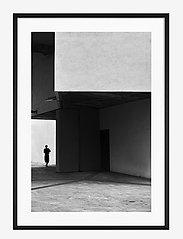 Democratic Gallery - Poster Cubist Architecture - home decor - black - 0