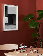 Democratic Gallery - Poster Cubist Architecture - home decor - black - 1
