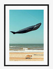 Democratic Gallery - Poster Balloon on the Beach - wystrój domu - blue - 0