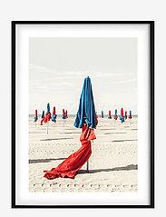 Democratic Gallery - Poster Colorful Beach - wystrój domu - red - 0