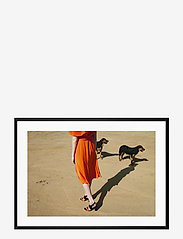 Democratic Gallery - Poster Walking Dogs - home decor - orange - 0