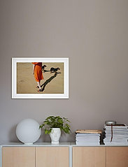 Democratic Gallery - Poster Walking Dogs - home decor - orange - 1