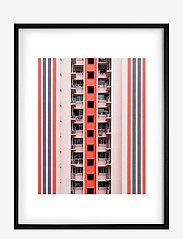 Democratic Gallery - Poster Balconies - wystrój domu - pink - 0