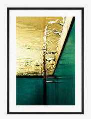 Democratic Gallery - Poster Abstract Pool - home decor - green - 0