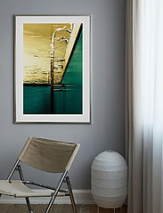 Democratic Gallery - Poster Abstract Pool - home decor - green - 1
