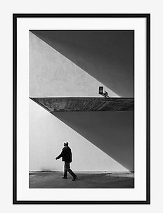 Poster Shadow Shapes - affiches - black