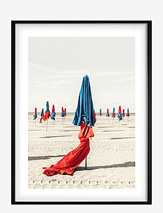Poster Colorful Beach - posters - red