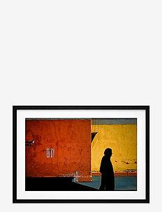 Poster Autumn Journey in Iran - affiches - orange