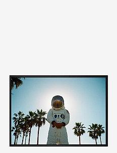 Poster Astronaut - wystrój domu - blue