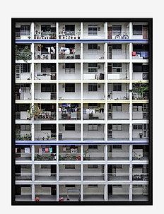 Poster Light Architecture - obrazy - white