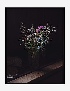 Poster Bouquet of Flowers - affiches - purple