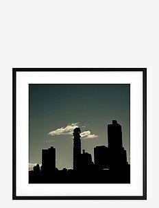 Poster Skyline - home decor - green