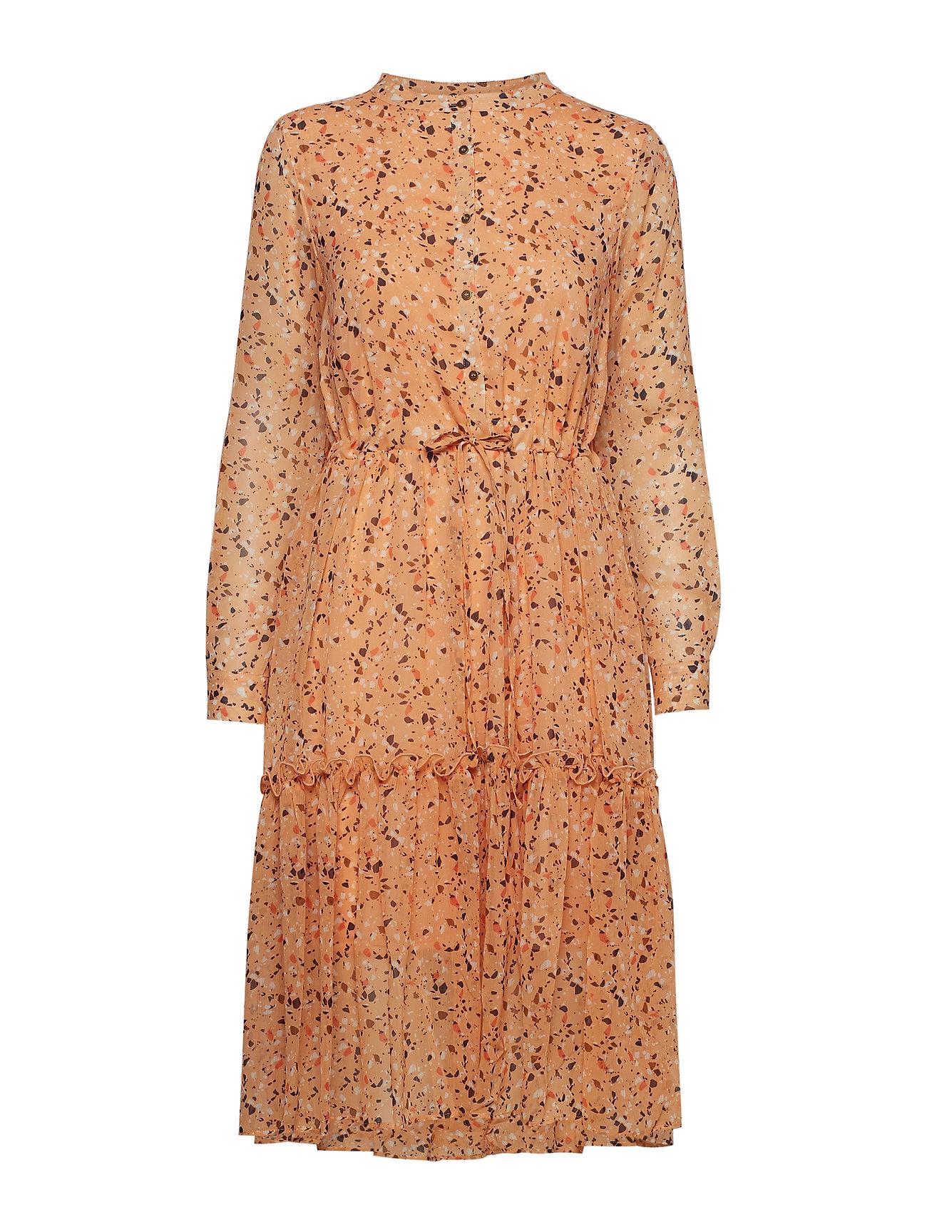 Denim Hunter DHMona Dress - NOMAD MARBLE AOP