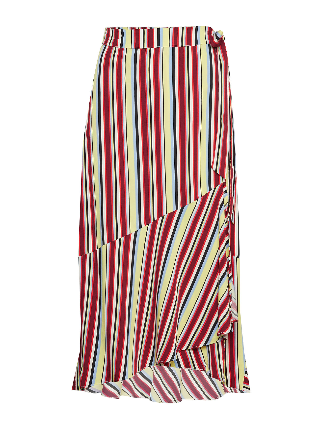 Denim Hunter DHGracia Wrap Skirt Multi colour st Kjolar