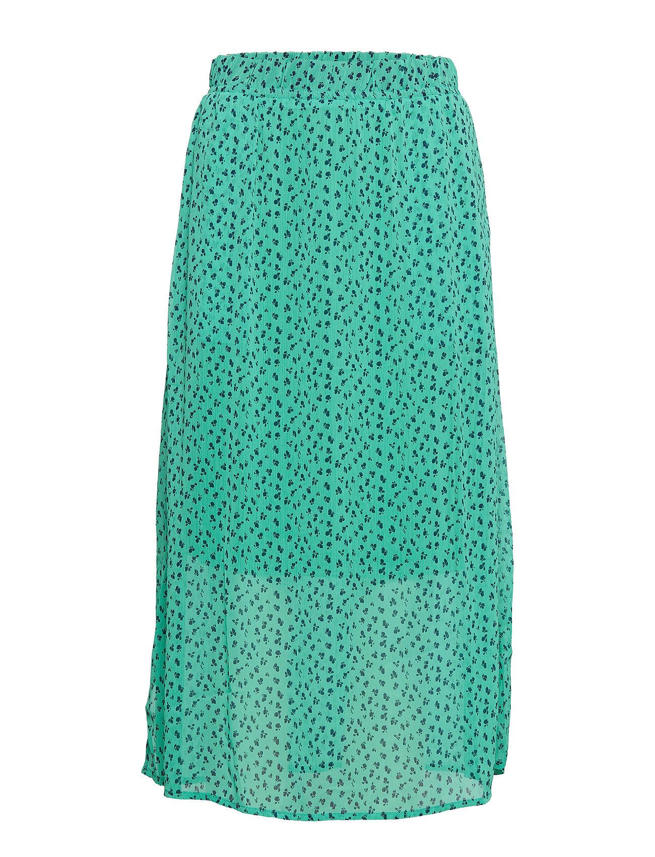 Denim Hunter DHAgnes Long Skirt - PARAKEET AOP