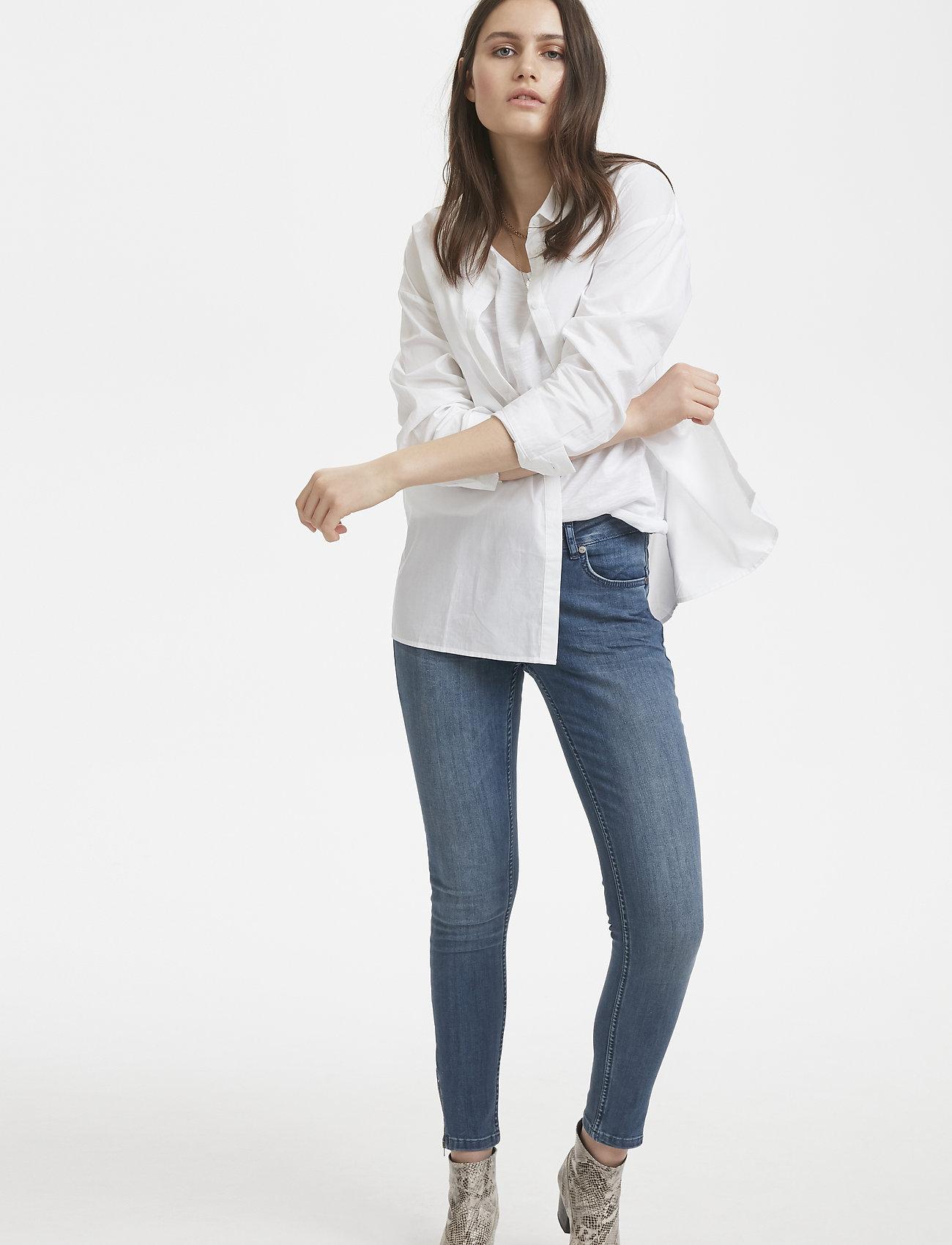 Denim Hunter - 03 THE SHIRT - långärmade skjortor - optical white - 0
