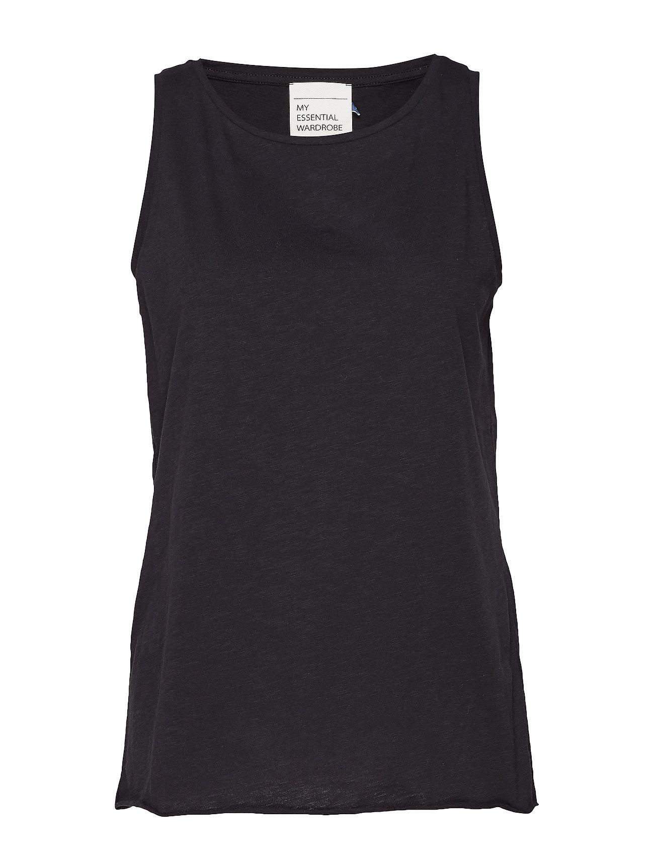 Denim Hunter 10 THE TANK Slub Yarn Jersey - BLACK
