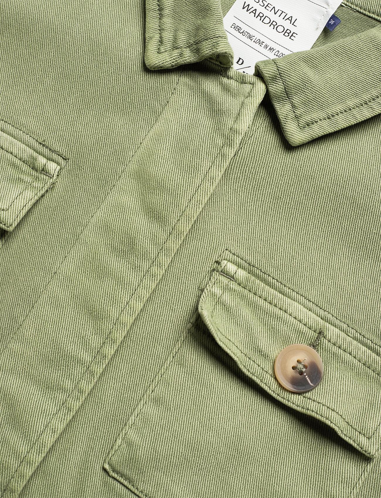 Denim Hunter 20 THE ARMY JACKET - Kurtki i Płaszcze DUSTY OLIVE - Kobiety Odzież.