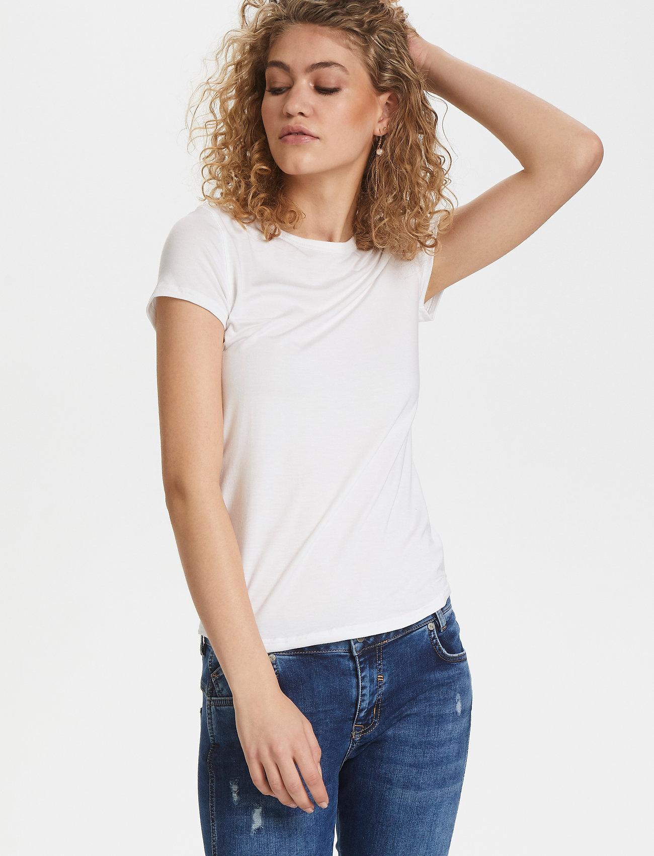Denim Hunter - 16 THE MODAL TEE - t-shirts - optical white - 0
