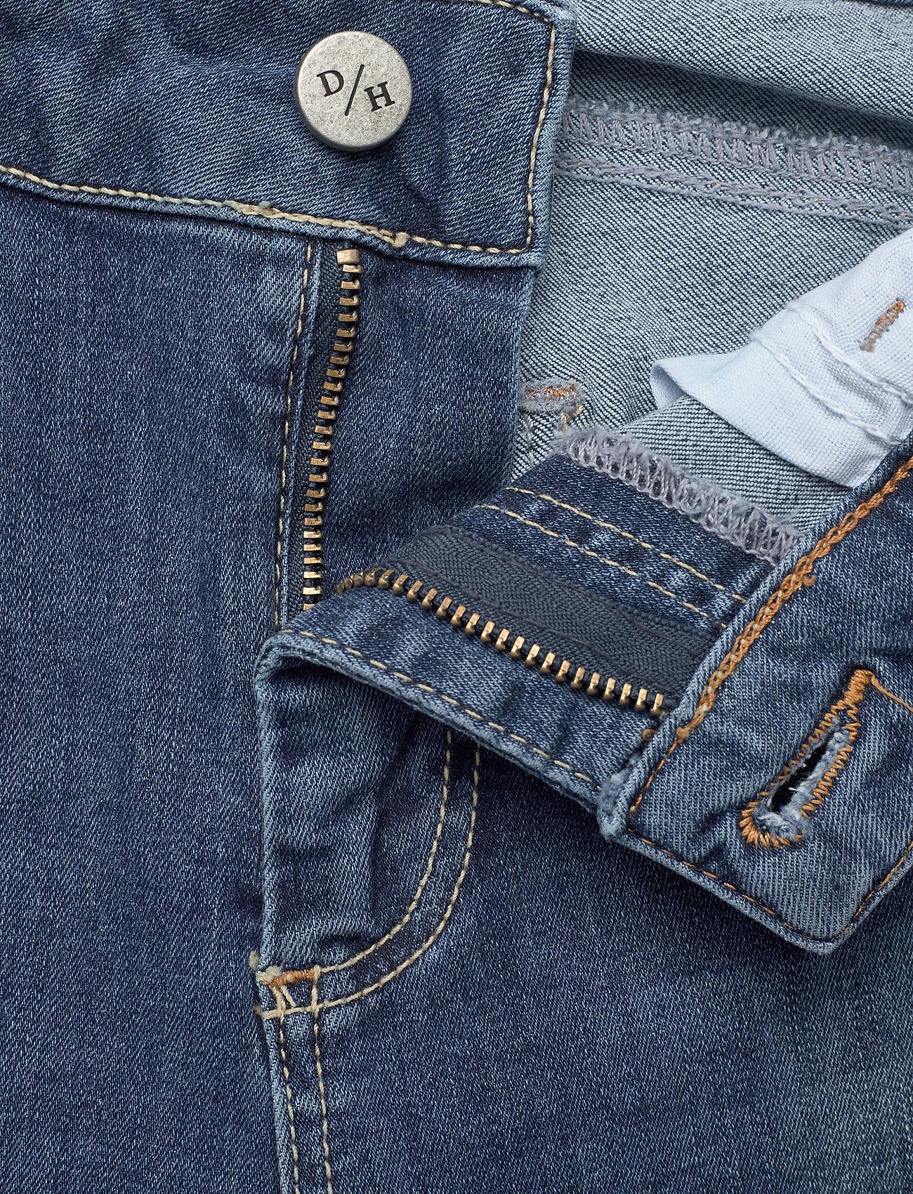 Denim Hunter - 40 THE CELINAZIP TORN CUSTOM - skinny jeans - medium blue vintage wash - 5