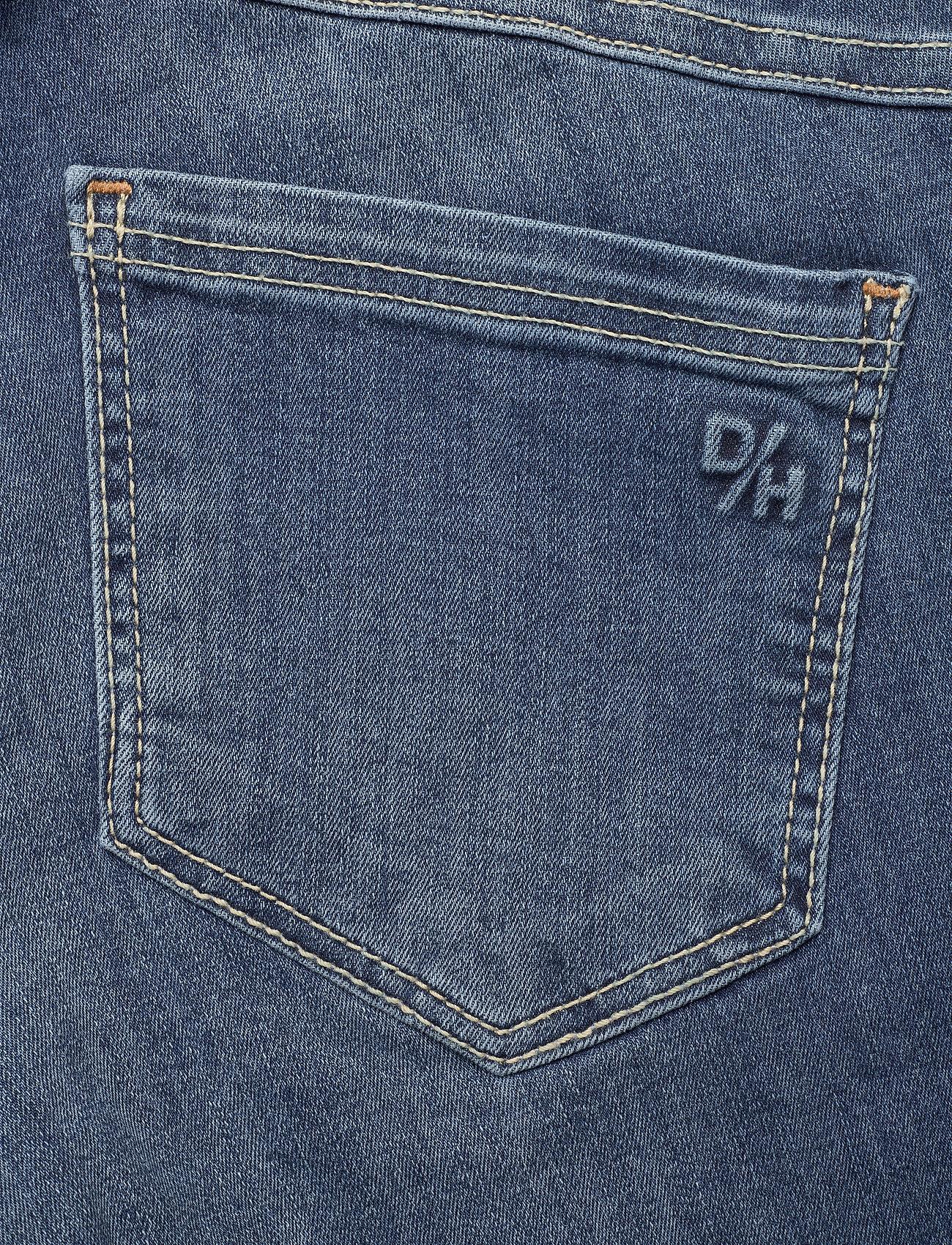 Denim Hunter - 40 THE CELINAZIP TORN CUSTOM - skinny jeans - medium blue vintage wash - 6