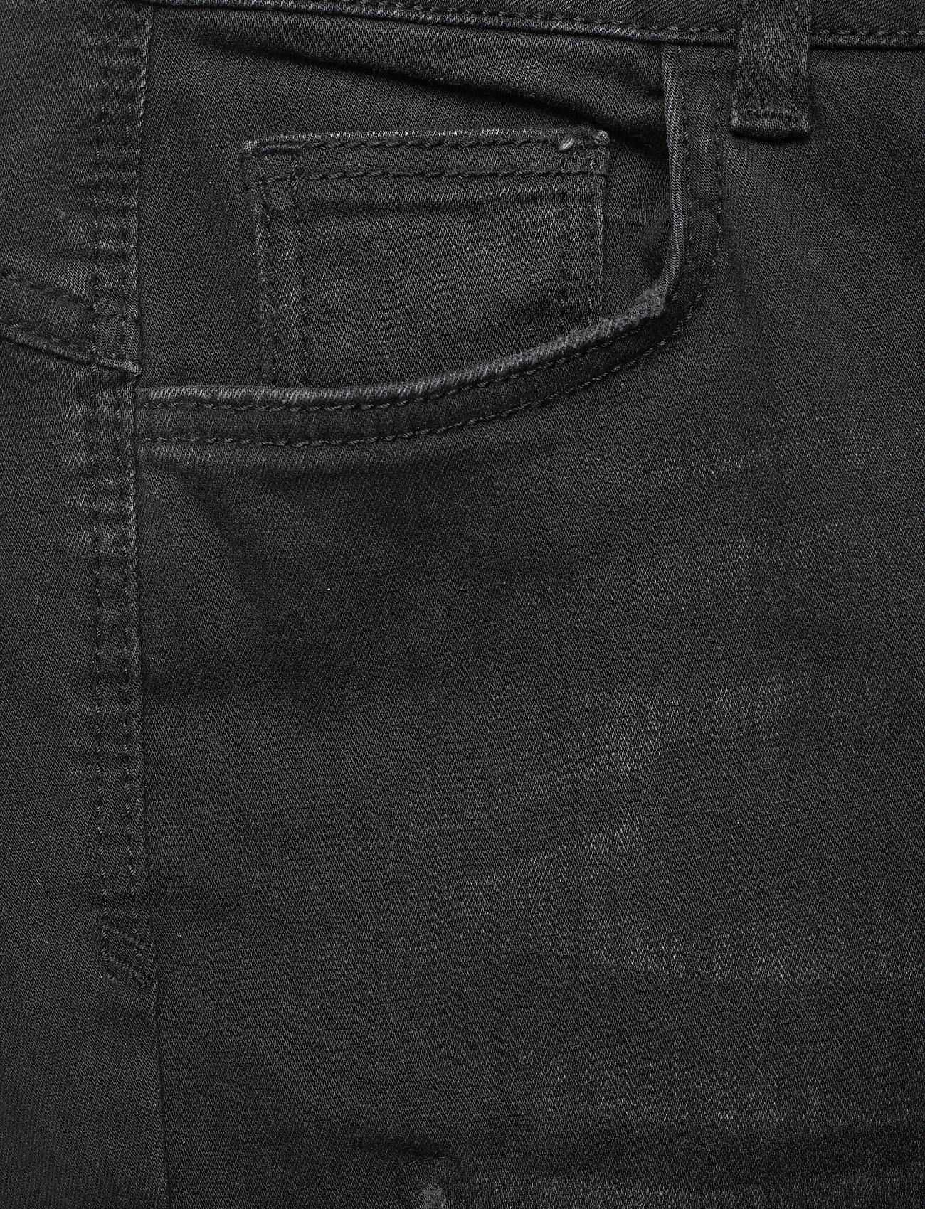 Denim Hunter - 40 THE CELINAZIP TORN CUSTOM - skinny jeans - black wash - 4