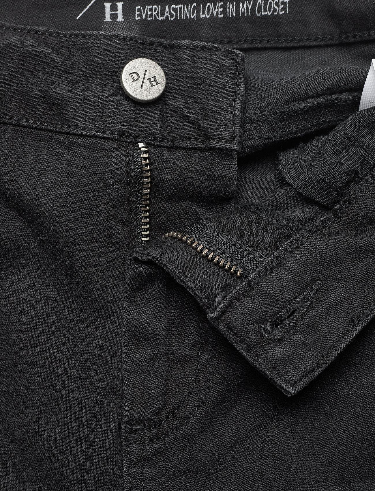 Denim Hunter - 40 THE CELINAZIP TORN CUSTOM - skinny jeans - black wash - 5