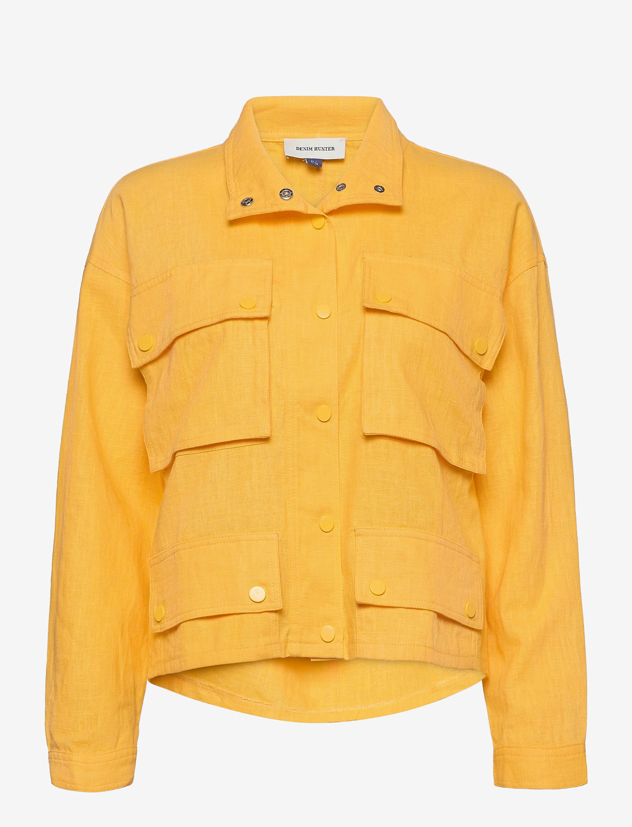 Denim Hunter - DHRafaela Short Jacket - lichte jassen - dafodil - 0