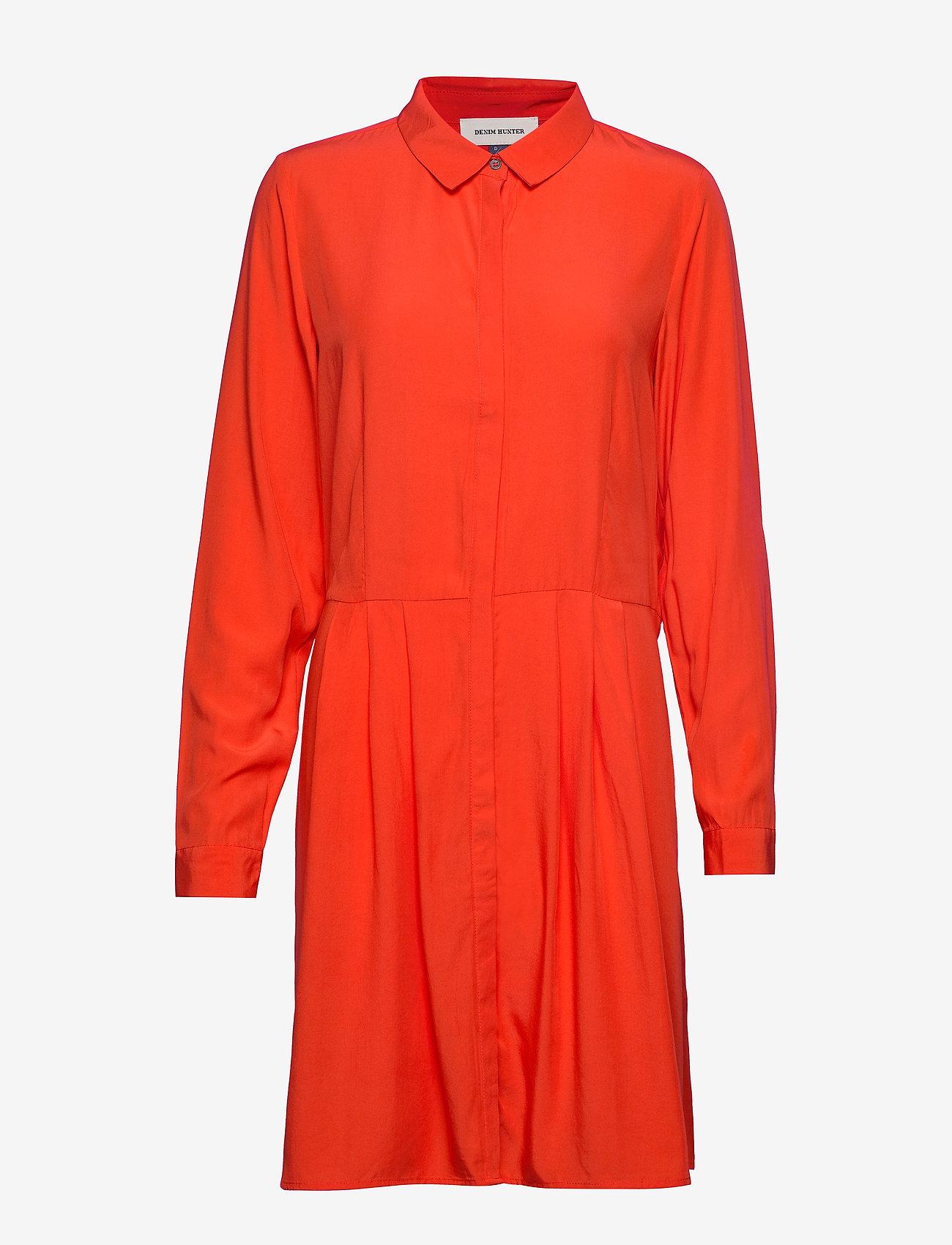 Denim Hunter - DHMolly Dress - paitamekot - fiesta red
