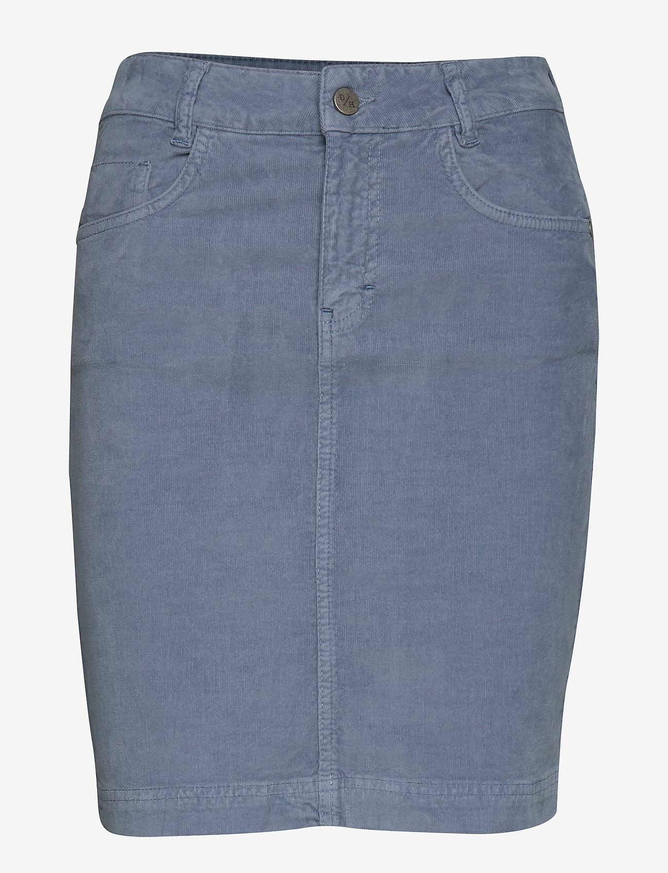 Denim Hunter - DHMolly Skirt - lyhyet - ashley blue