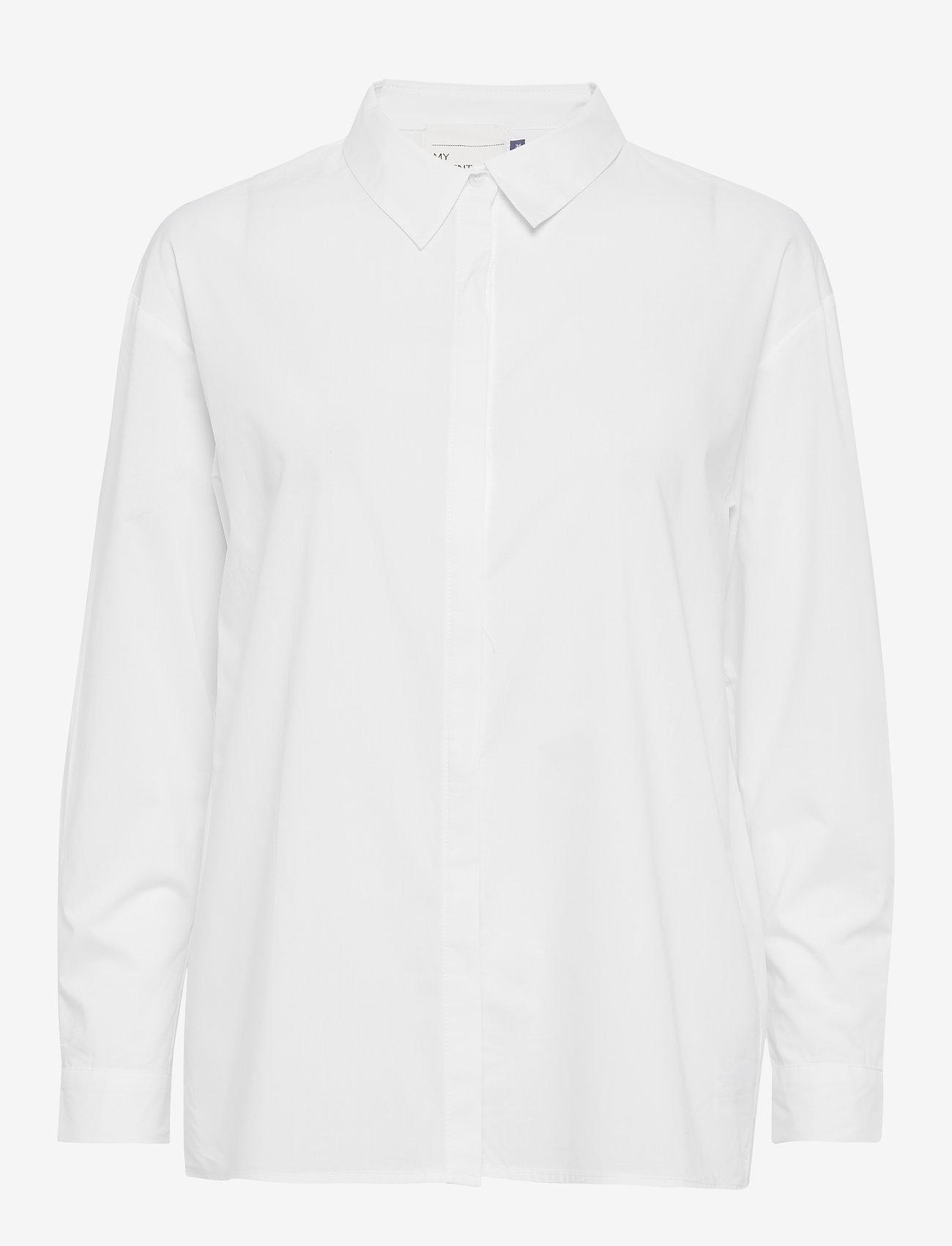 Denim Hunter - 03 THE SHIRT - långärmade skjortor - optical white - 1