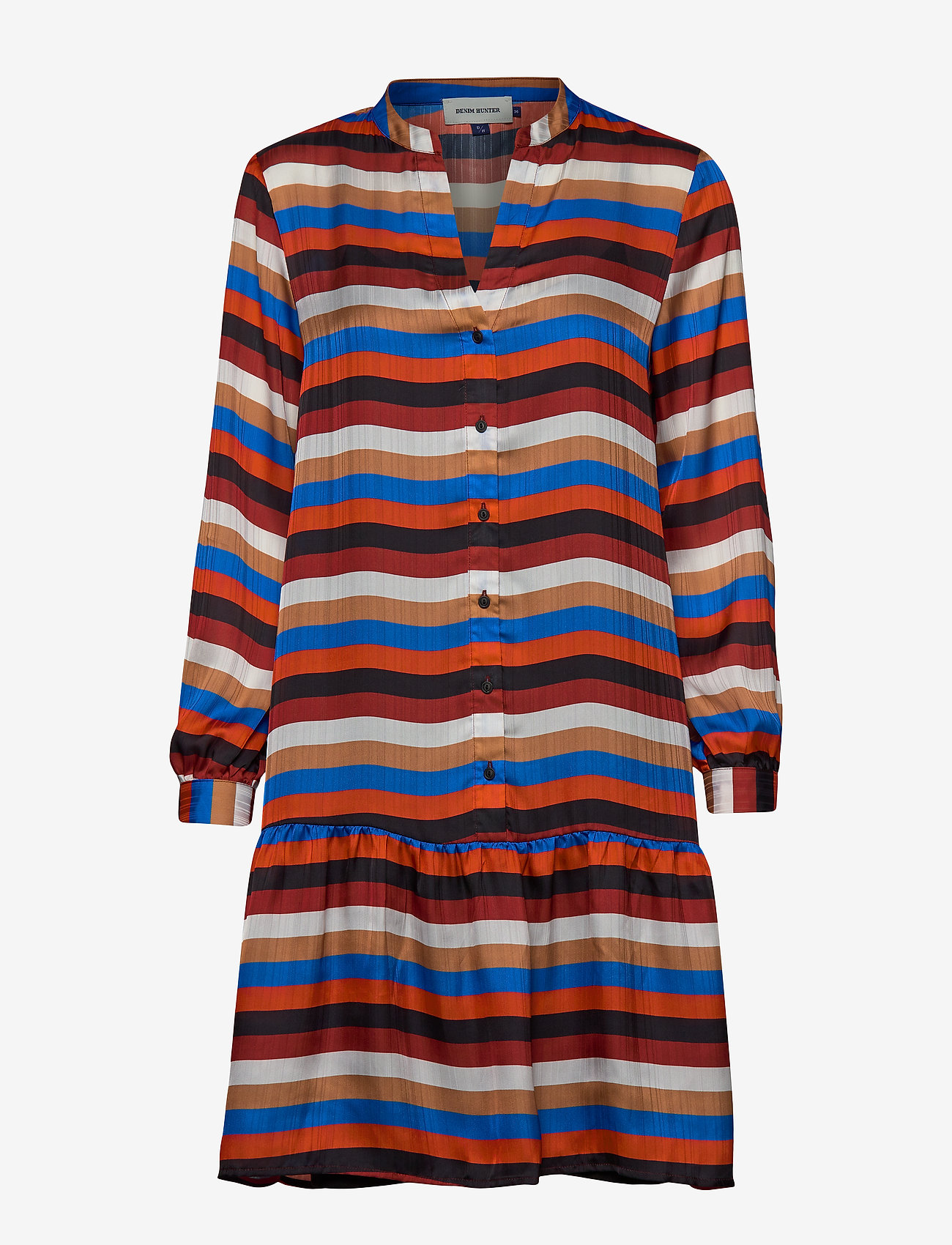Denim Hunter - DHStry Dress - shirt dresses - multi colour stripes