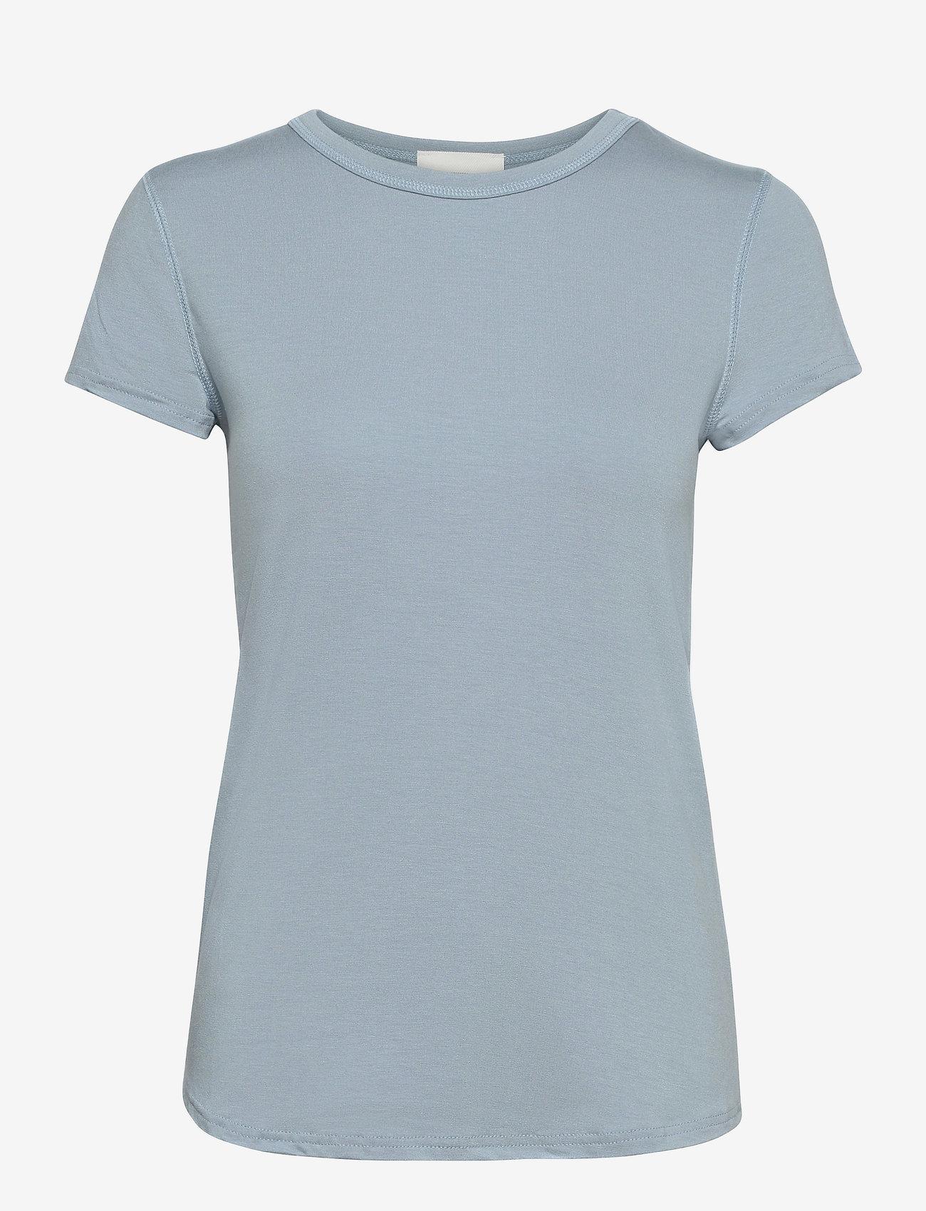 Denim Hunter - 16 THE MODAL TEE - t-shirts - ashley blue - 1