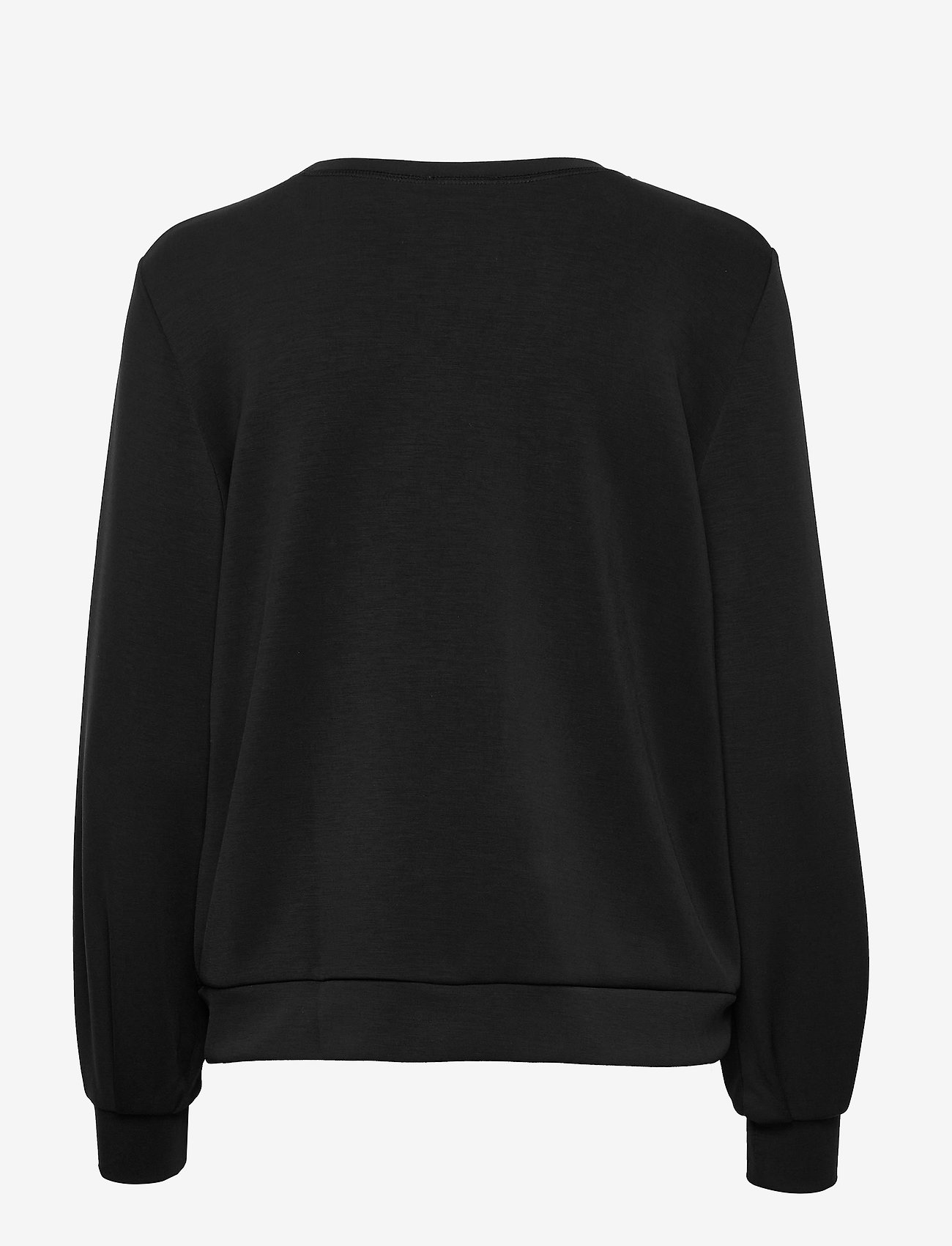 Denim Hunter - 23 THE SWEAT BLOUSE - sweatshirts - black - 1