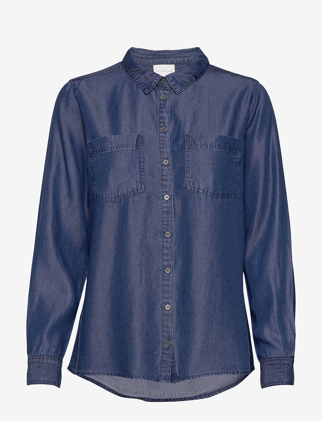 Denim Hunter - 15 THE DENIM SHIRT - jeansskjortor - denim blue - 1