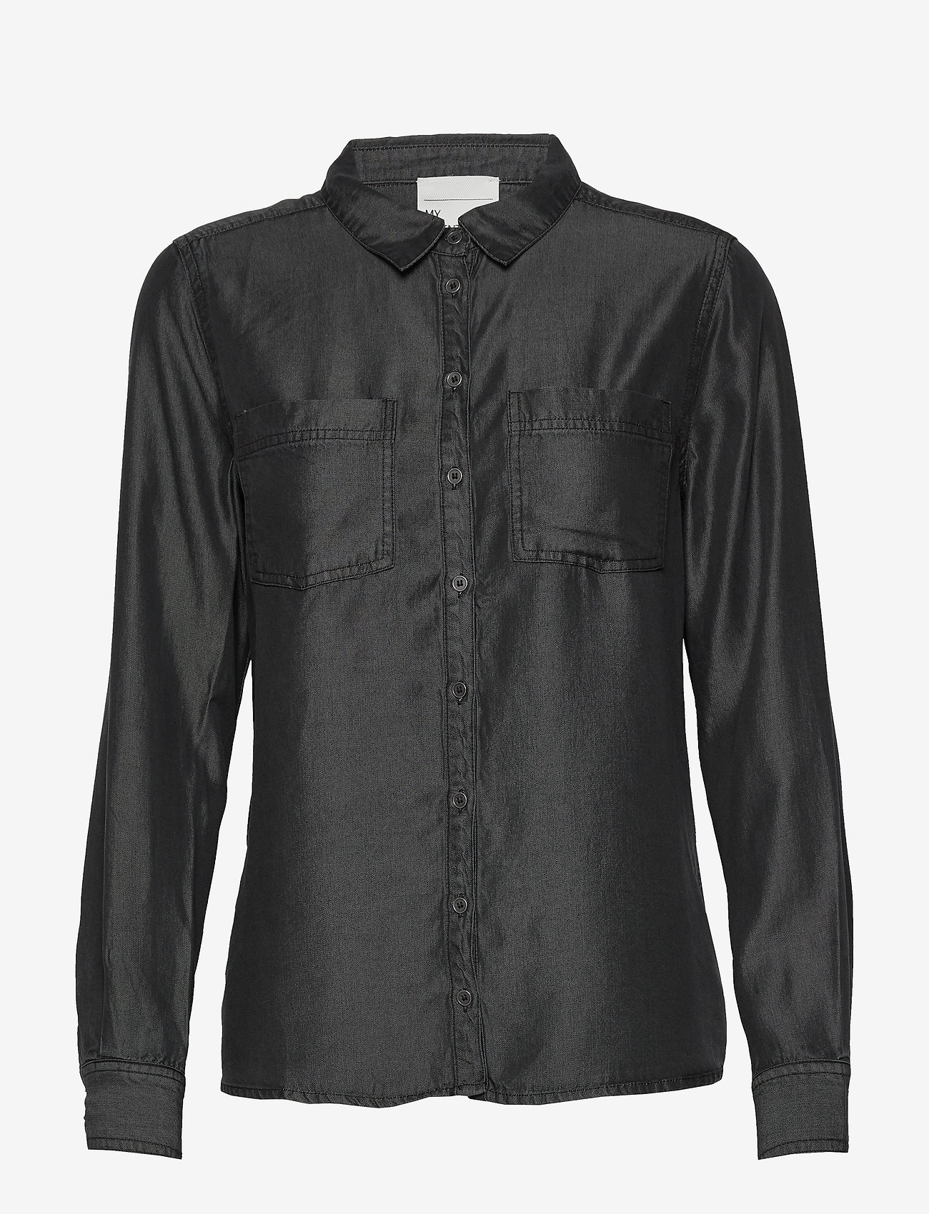 Denim Hunter - 15 THE DENIM SHIRT - jeansskjortor - grey wash - 0
