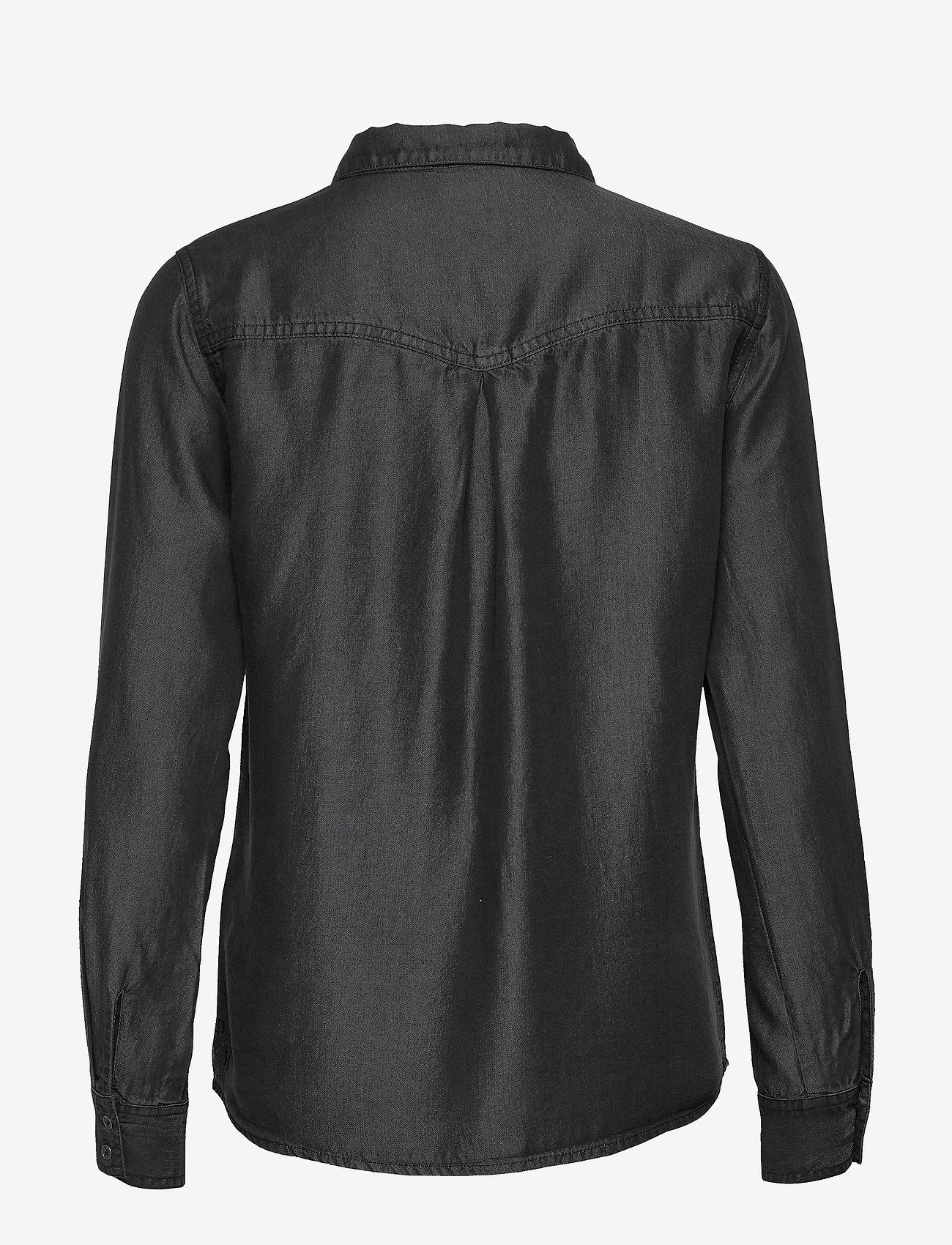 Denim Hunter - 15 THE DENIM SHIRT - jeansskjortor - grey wash - 1