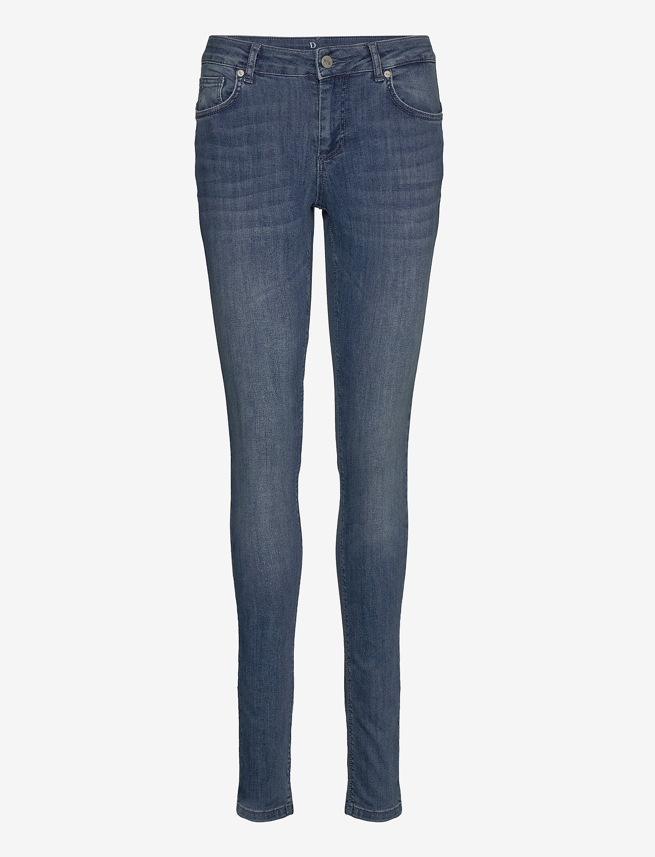 Denim Hunter - 32 THE CELINA LONG CUSTOM - slim jeans - medium blue vintage wash - 0