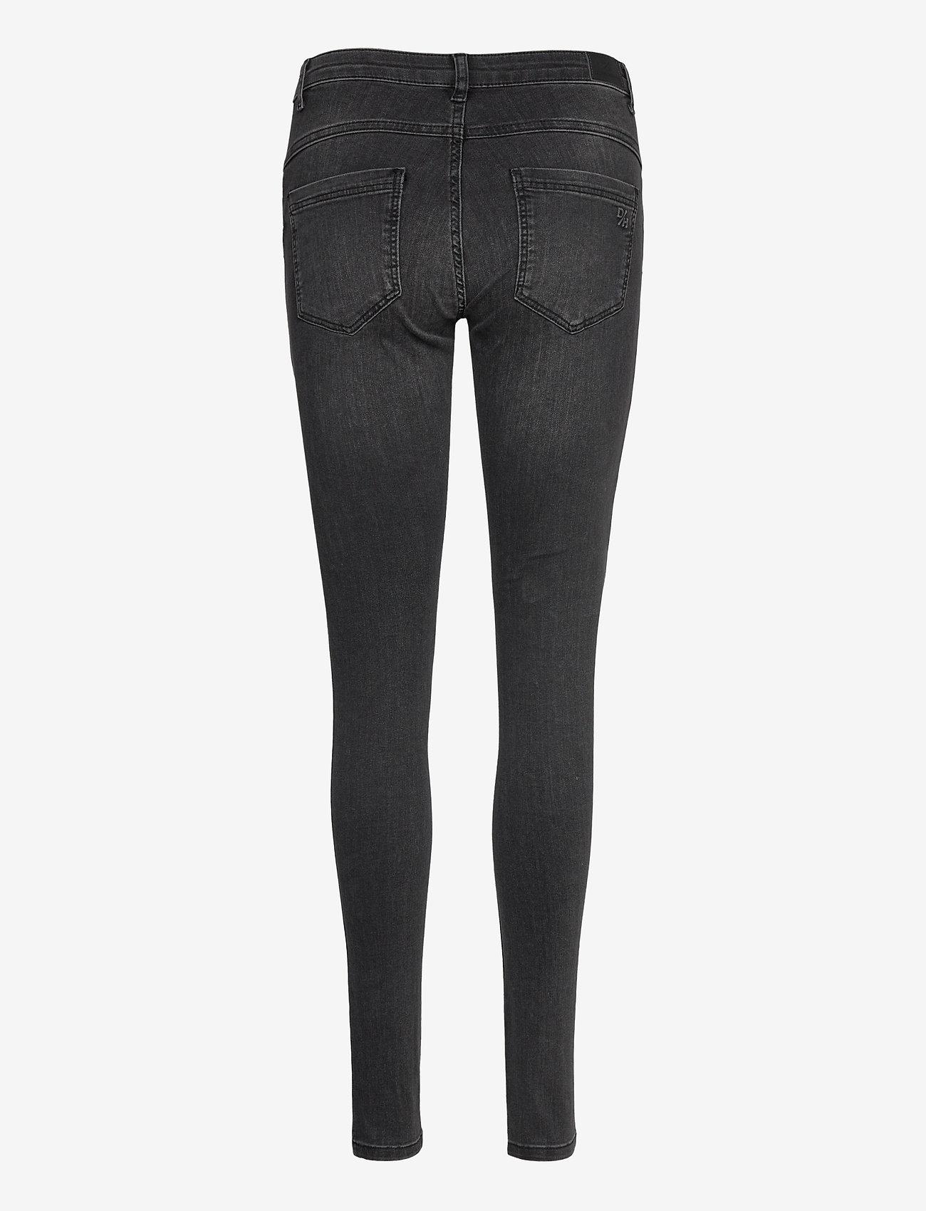 Denim Hunter - 32 THE CELINA LONG CUSTOM - slim jeans - medium grey wash - 1