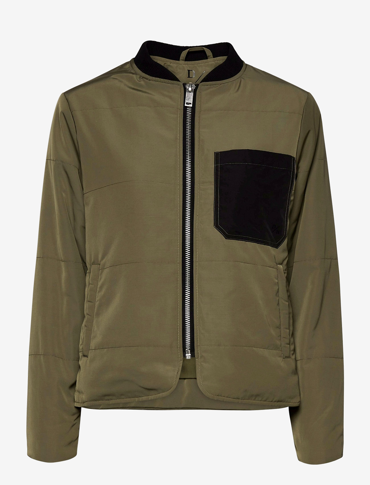Denim Hunter - DHGrue Short Jacket - bomber jakker - dusty olive - 0