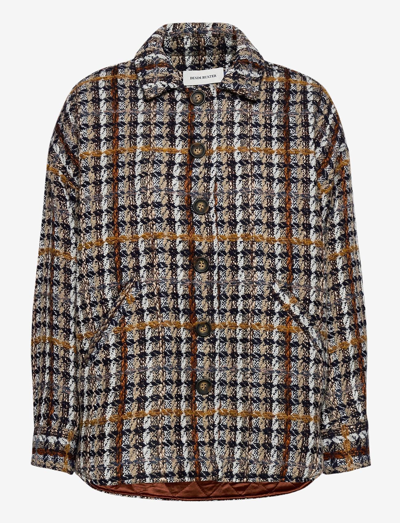 Denim Hunter - DHTwigg Jacket - wool jackets - hazel checks - 1