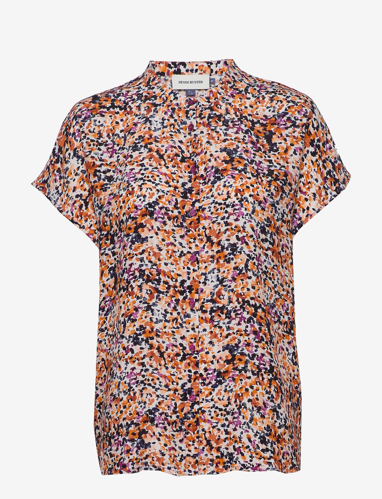 Denim Hunter - DHFleur SS Shirt - chemises à manches courtes - wild aster - 0