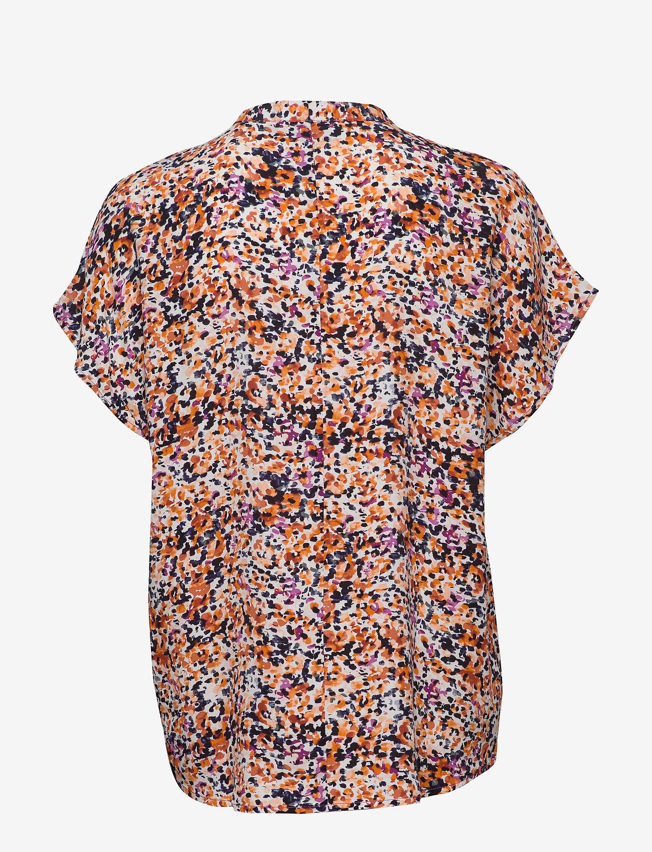 Denim Hunter - DHFleur SS Shirt - chemises à manches courtes - wild aster - 1
