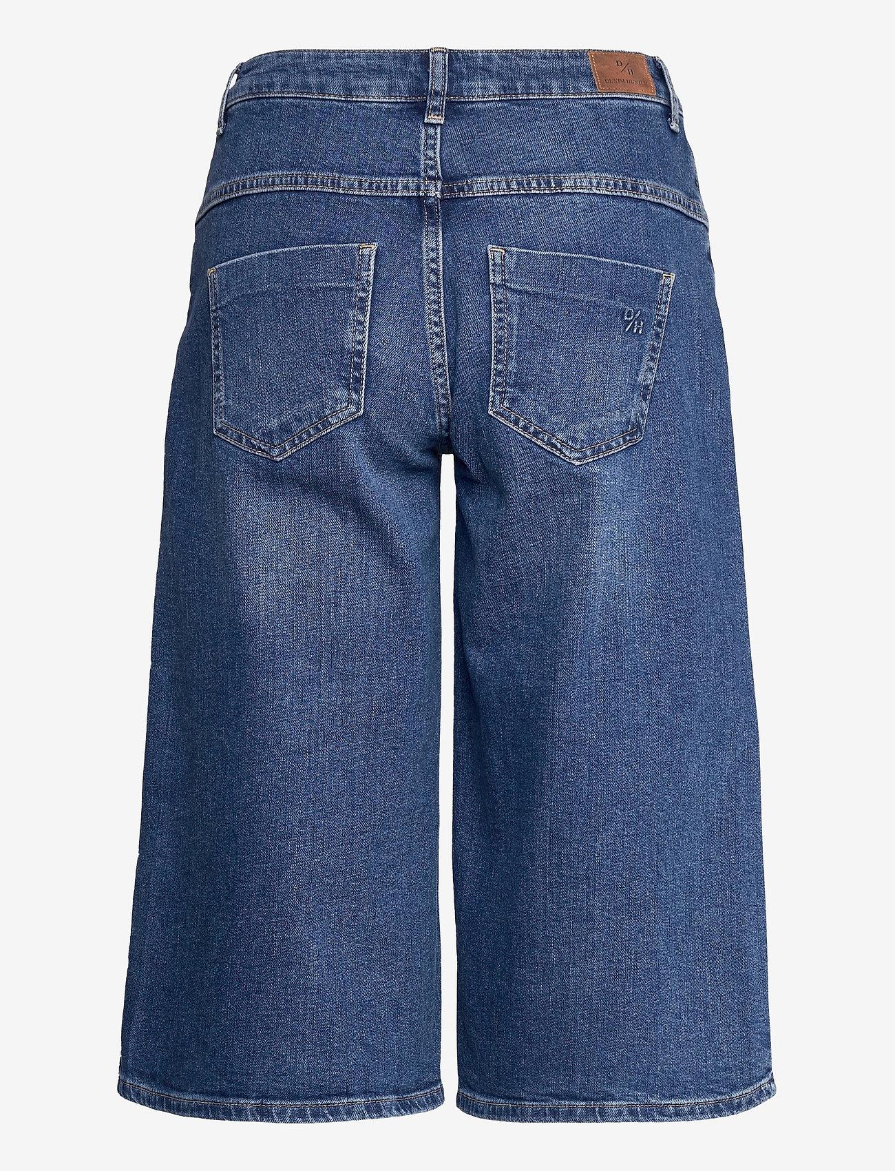 Denim Hunter - DHMattie Long Shorts Custom - denimshorts - dark blue wash - 1