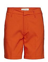 Paula Short Shorts - RED ORANGE