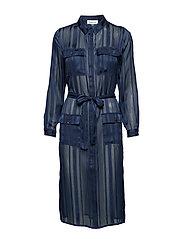 DHTori Shirt Dress - PEACOAT