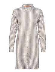 DHEtta Shirt Dress - NOMAD/WHITE STRIPE